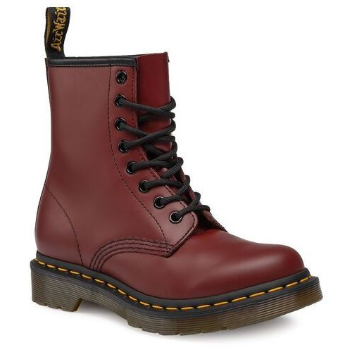 Glany DR. MARTENS - 1460 Smooth 11821600 Cherry Red, 36-41