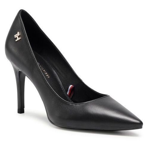 Szpilki TOMMY HILFIGER - Essential Leather High Heel Pump FW0FW05283 Black BDS, w 6 rozmiarach