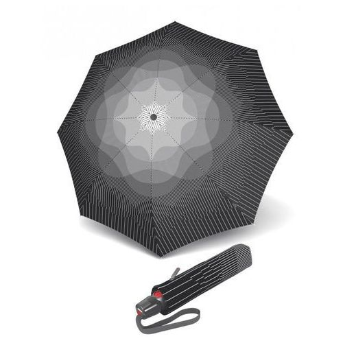 """Parasol markowy KNIRPS T.200 EASY HANDLING """"COMPACT & COMFORTABLE"""" FOG. Design by NUNO Japan"""