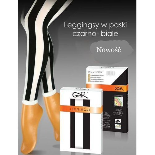 Legginsy leggings stripes marki Gatta