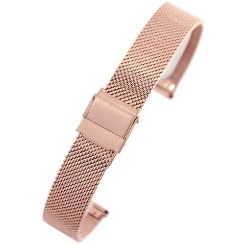Bransoleta - siatka PACIFIC - PVD Rose Gold- 12mm