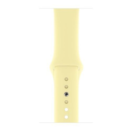 Pasek APPLE do Apple Watch (42/44 mm) Żółty, kolor żółty