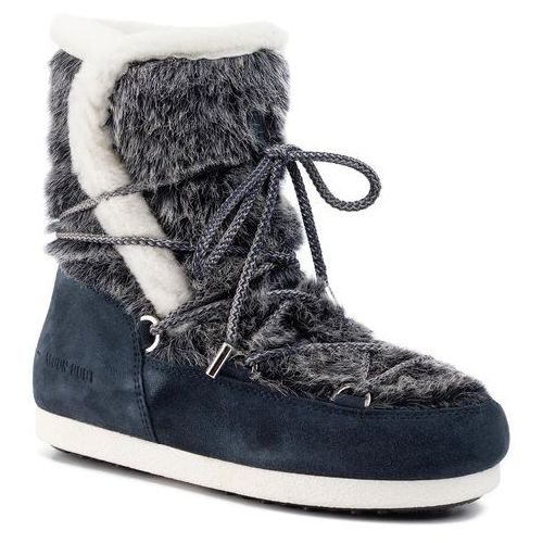 Śniegowce MOON BOOT - Mb Far Side High Faux Fur 24201000001 Navy Blue, w 5 rozmiarach