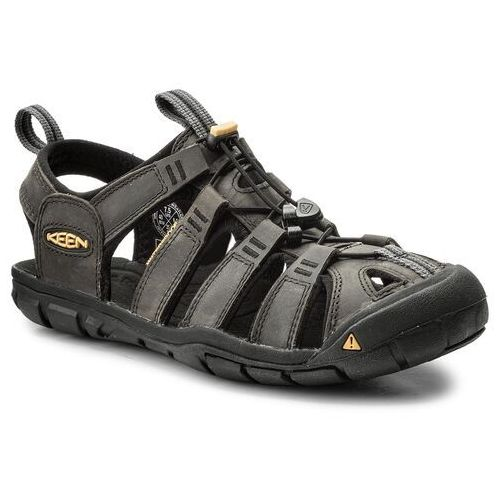 Keen Sandały Clearwater Cnx Leather 1013107 Szary, 0887194477753