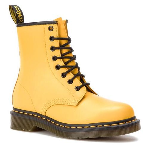 Glany DR. MARTENS - 1460 Smooth 24614700 Yellow, 36-47