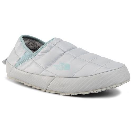 Kapcie - thermoball traction mule v nf0a3v1hgv3 high rise grey/cloud blue, The north face, 36-41