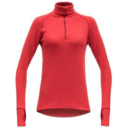 golf damski expedition woman zip neck, chilli, l marki Devold