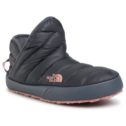 Kapcie THE NORTH FACE - Thermoball Traction Bootie NF0A331HVE81 Vanadis Grey/Pink Clay, w 6 rozmiarach