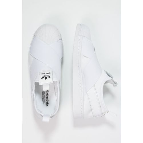 adidas Originals SUPERSTAR Półbuty wsuwane whitecore black