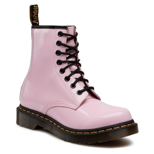 Glany DR. MARTENS - 1460 W Patent Lamper 26425322 Pale Pink, w 6 rozmiarach