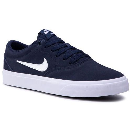 Buty NIKE - Sb Charge Suede (Gs) CT3112 400 Obsidian/White/Obsidian/Black, 35.5-40