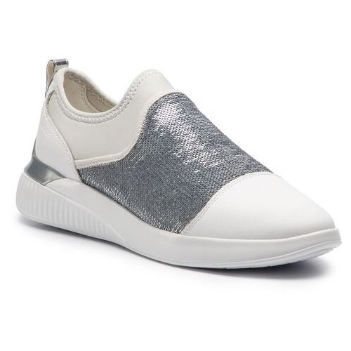Sneakersy - d theragon a d848sa 085at c0007 white/silver, Geox, 36-41
