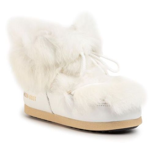 Śniegowce MOON BOOT - Mb Far Side 50 Low Shearling 24201800001 White, kolor biały