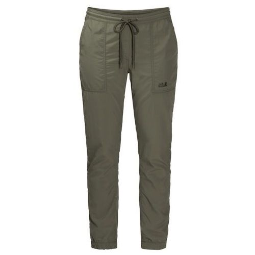 Spodnie damskie KALAHARI CUFFED PANTS WOMEN woodland green - XL, 1505051-5052005