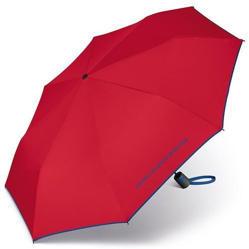 United Colors of Benetton Mini AC 56603 parasol krótki składany / Red - Red
