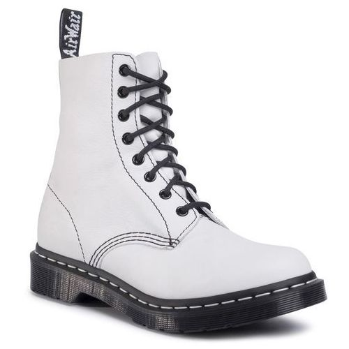 Glany DR. MARTENS - 1460 Pascal Bw 25818113 Optical White, 36-40