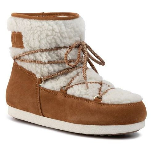 Śniegowce MOON BOOT - Mb Far Side Jr Girl Low 342002003 Whisky