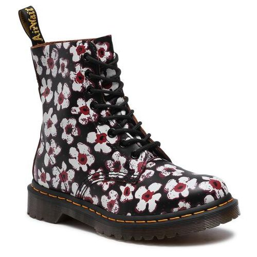 Glany DR. MARTENS - 1460 Pascal 26456002 Black/Red, 36-42