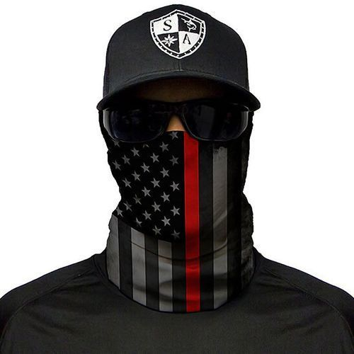 chusta wielofunkcyjna face shield™ thin red line flag - thin red line flag marki Sa co.