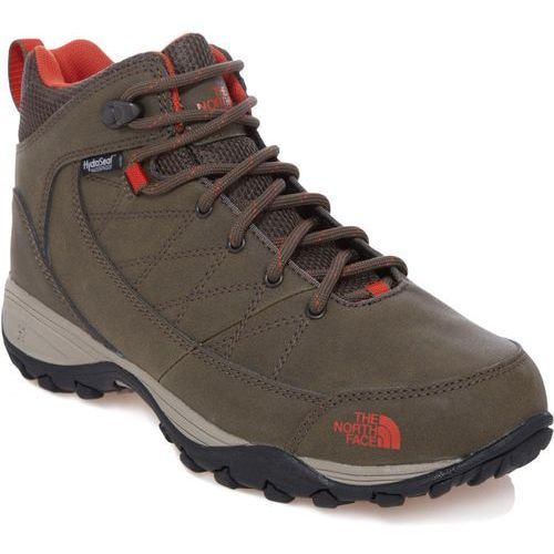 The north face buty zimowe damskie women's storm strike wp weimaraner brown/zion orange 37