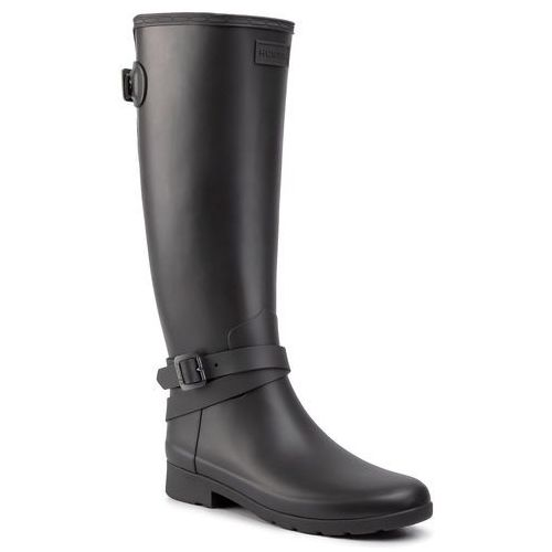 Kalosze HUNTER - W Ref Back Adj Tall Ankle Strp WFT2003RMA Black, 37-40.5