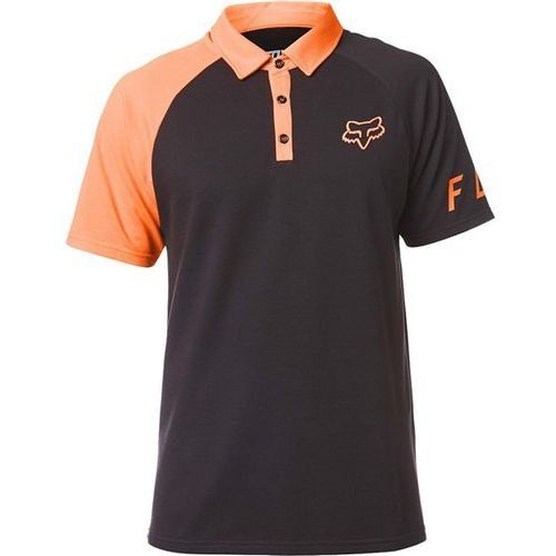 Koszulka - switched on polo black/orange (016), Fox