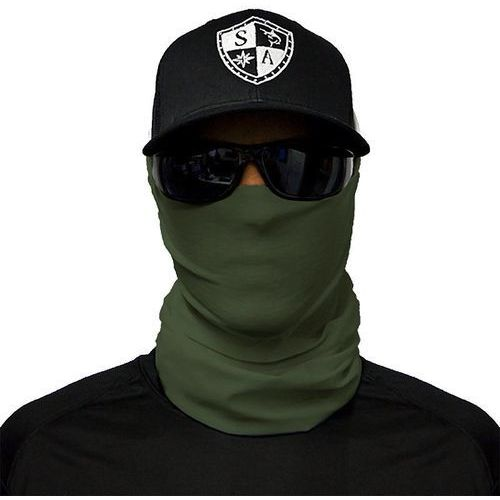 SA Co. Chusta Wielofunkcyjna Face Shield™ Tactical OD Green - Tactical OD Green (4260503099901)