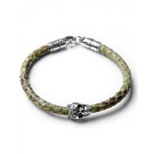 ​green python with skull l marki Caviallo