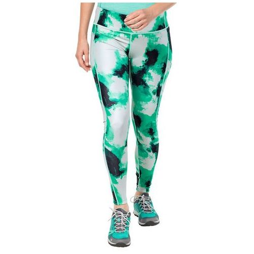 Legginsy ATHLETIC CLOUD TIGHTS WMN deep mint all over - L, 1504641-7994004