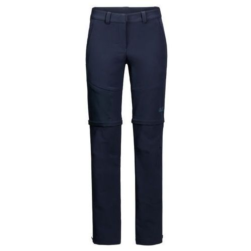 Spodnie damskie softshell ACTIVATE ZIP AWAY PANTS midnight blue - 34 (4060477110868)
