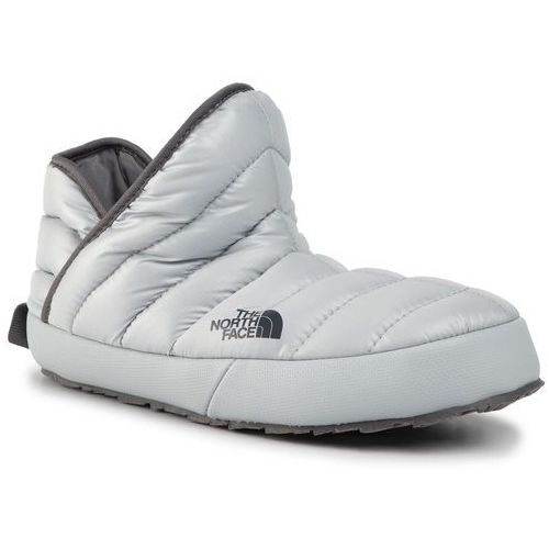 Kapcie THE NORTH FACE - Thermoball Traction Bootie NF0A331HTWP -050 High Rise Grey, kolor szary